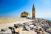 Sanctuary of the Madonna dell´ angelo in Caorle, Veneto, Italy