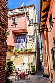Restaurant in Caorle, Veneto, Italy