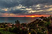 Coast off the Stromboli, Calabria, Italy
