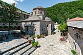 In the Evangelistria monastery of Skiathos, Greece