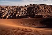 """Duna Mayor, Mirador Achaches, """"Valle de la Luna"""" (Moon Valley), San Pedro de Atacama, Atacama Desert, Antofagasta Region, Chile, South America"""