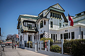 "historic building ""Mueso de Bellas Artes"", Valparaiso, Chile, South America"