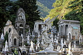 Cemetery, Chiavenna, Valchiavenna, Sondrio, Lombardy