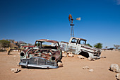 Car wreck in Solitaire, Namib Naukluft Park, Namibia