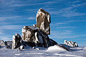 Wintry Ramshead Range in Kosciuszko National Park,NSW, Australia