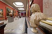Frankreich, Herault, Montpellier, historisches Zentrum, Musée Fabre, 18. Jahrhundert, Säulengalerie