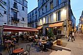 Frankreich, Herault, Montpellier, historisches Zentrum, Écusson, Place Saint-Come