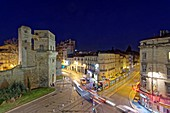 France, Herault, Montpellier, historical center, the Ecusson, Babote tower