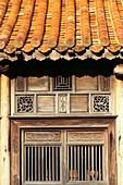 France, Bouches du Rhone, Le Puy Sainte Reparade, Chateau La Coste, the vegetable garden, Vietnamese Tea Pavilion (Compulsory Mention)