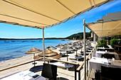 France, Corse du Sud, Pinarello, restaurant Le Rouf
