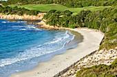 France, Corse du Sud, Bonifacio, Domain, and Sperone Golf Club, Grand Sperone beach
