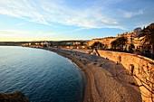 France, Alpes Maritimes, Nice, Castel beach