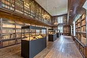 Frankreich, Cantal, Saint-Flour, Große Seminarbibliothek, Diözesanarchiv