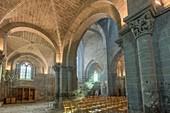 France, Haute Loire, Chanteuges, Benedictine Abbey