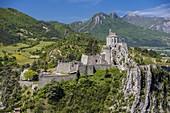 France, Alpes de Haute Provence, Sisteron, the Citadel, XIV XVI century historical monument