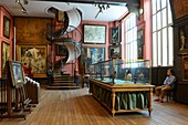 France, Paris, painter Gustave Moreau Museum. located in what was his family home and studio french Artist Gustave Moreau (1826 1898), has created its own museum with 15000 artworks and given it to the State