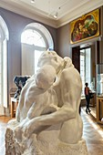 France, Paris, the Rodin Museum, The Kiss