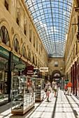 France, Gironde, Bordeaux, area listed as World Heritage by UNESCO, Galerie Bordelaise, shopping mall built in 1833 by the architect Gabriel-Joseph Durand