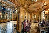 France, Paris, Saint Louis Island, hotel de Lauzun, the music room