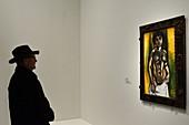 France, Paris, Fondation Louis Vuitton, Chtchoukine Exhibition, Matisse,Nude black and gold