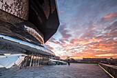 France, Paris, the Philarmony of Paris of the architect Jean Nouvel