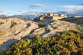 France, Haute Corse, Balagne, Calvi, the Genoese citadel seen since points Saint François