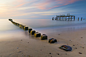 Uniescie beach on the Baltic Sea, West Pomerania, Poland