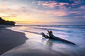 Strand von Rozewie an der Ostsee, Pommern, Polen