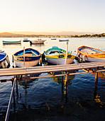 Hafen von Olivette bei Antibes, Departement Alpes-Maritimes, Provence-Alpes-Cote d'Azur, Cote d'Azur, Frankreich