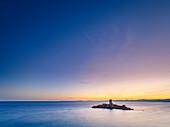 Ile d'Or, vor dem Cap Le Dramont, Departement Var,     Provence-Alpes-Cote d'Azur, Cote d'Azur, Frankreich