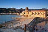 Frankreich, Pyrénées-Orientales, Collioure, Sonnenschein