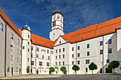 Dillingen Castle and Tax Office, Dillingen, Danube Cycle Path, Swabia, Bavaria, Germany