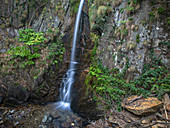 Small waterfall at Trarego, Cannero, Piedmont, Italy