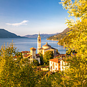 Church of Cannero, Lake Maggiore, Piedmont, Italy