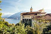Wallfahrtskirche Madonna del Sasso, Locarno, Lago Maggiore, Tessin, Schweiz