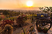Sunset at Red Mountain Winery, Inle Lake, Heho, Myanmar