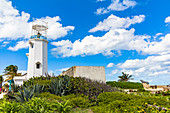 """Lighthouse at """"Punta Sur"""" - Cape in the south of """"Isla Mujeres"""", Quintana Roo, Yucatan Peninsula, Mexico"""