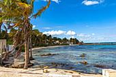 "Hermose Caleta - Beach in the north of ""Isla Mujeres"", Quintana Roo, Yucatan Peninsula, Mexico"