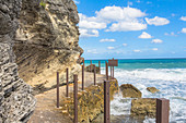 "Path on the water of ""Punta Sur"" - Cape in the south of ""Isla Mujeres"", Quintana Roo, Yucatan Peninsula, Mexico"