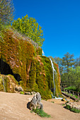 Dreimühlen waterfall near Nohn, Eifel, Rhineland-Palatinate, Germany