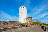 Reiifferscheid Castle, Eifel, North Rhine-Westphalia, Germany