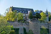 Dhaun Castle in Dhaun, Hunsrück, Rhineland-Palatinate, Germany