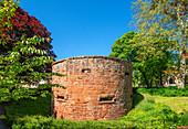 Turm der Stadtmauer, Trier, Mosel, Rheinland-Pfalz, Deutschland