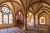Cloister of the cathedral, Trier, Moselle, Rhineland-Palatinate, Germany