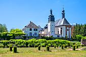 Castle church in Blieskastel, Saarland, Germany