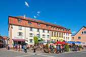 Restaurants in the old town of Ottweiler