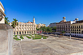 View from stairs of the Capitol, Old Havana, Cuba