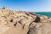 Shark Island - peninsula on the coast of Luderitz, Namibia
