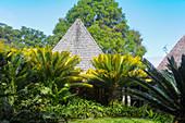 Hotel Shangri-La is located amidst tropical vegetation on Yanuca Island, Fiji
