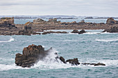 Rocks at Plougrescant Brittany